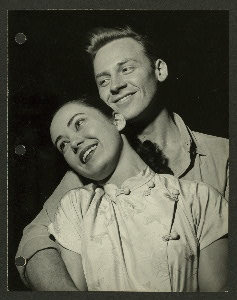 [Betta St. John (Liat) and William Tabbert (Lt. Joseph Cable) in South Pacific]