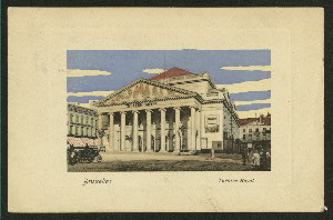 Theatres -- Belgium -- Brussles -- Theatre Royal de la Monnaie