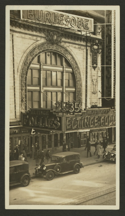 Theatres -- U.S. -- N.Y. -- Eltinge (236 W. 42nd St.)