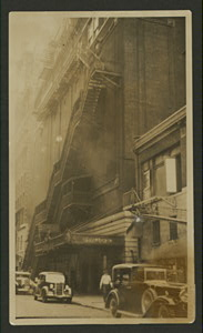 Theatres -- U.S. -- N.Y. -- Palace (B'Way & 47th St.)