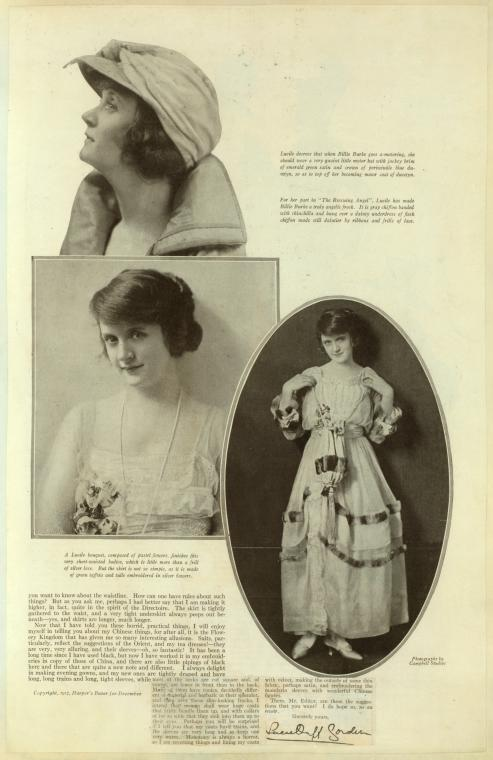 [Billie Burke - Part II.]