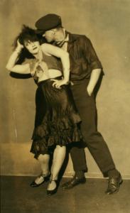 Lora Shadinskaya and W. Kuderoff / photographs, no credit given.