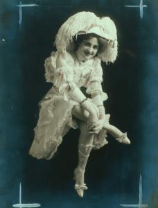 Miss Zoe Barnett / photograph by Terkelson & Henry.