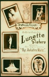 Lunette Sisters / photographs by Kyle.