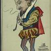 Caricature of William Shakespeare.