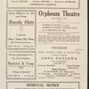 Anna Pavlova programs, 1922.