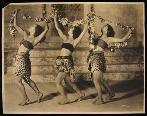 Marion Morgan Dancers in Helen of Troy